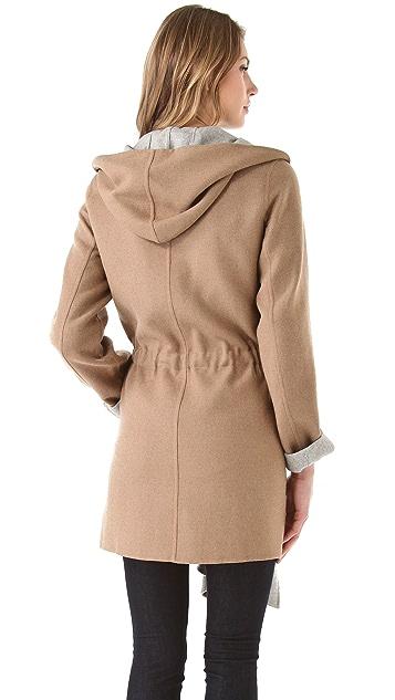 Rebecca Taylor Wool Wrap Coat