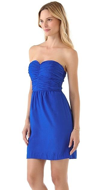 Rebecca Taylor Sweetheart Strapless Dress