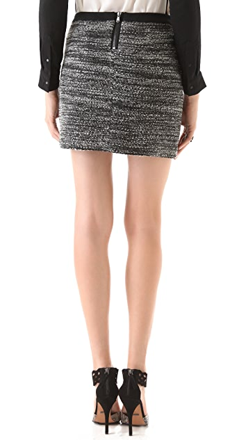 Rebecca Taylor Boucle Skirt