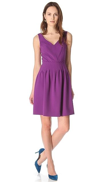 Rebecca Taylor Crepe Femme Dress