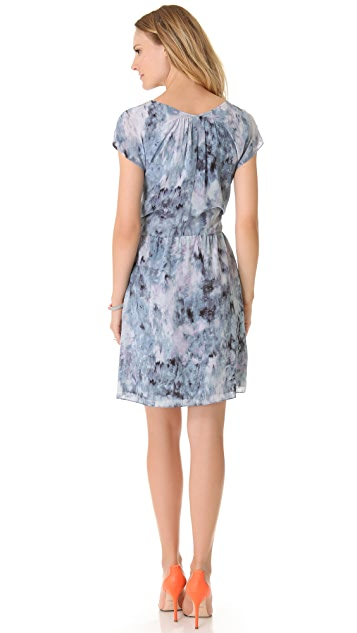 Rebecca Taylor Aurora Tie Waist Dress