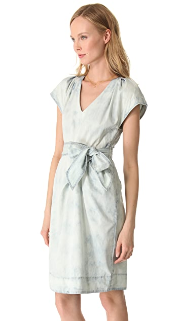 Rebecca Taylor Flutter Sleeve Dress