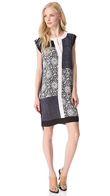 Rebecca Taylor Star Flower Shift Dress