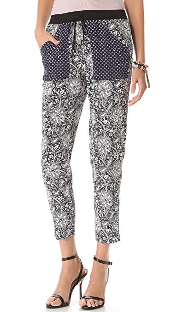 Rebecca Taylor Star Flower Pants
