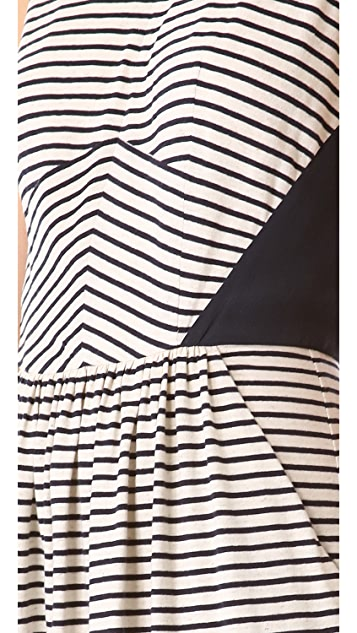 Rebecca Taylor Striped Dress