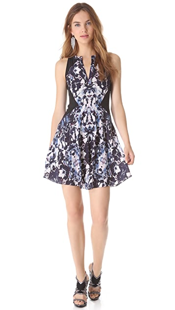 Rebecca Taylor Silk Floral Dress