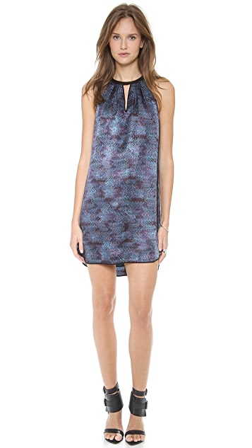 Rebecca Taylor Stained Glass Halter Dress