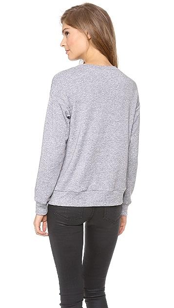 Rebecca Taylor Faceted Embellished Sweatshirt