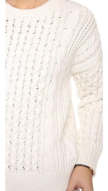 Rebecca Taylor Dolman Sleeve Sweater