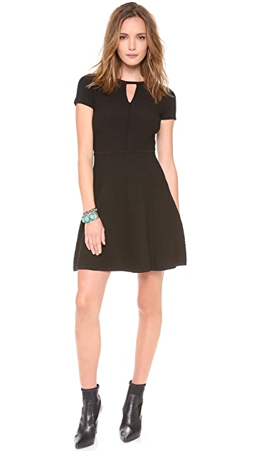 Rebecca Taylor Diamond Stretch Dress