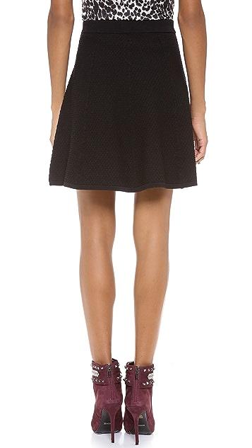 Rebecca Taylor Diamond Stretch Skirt