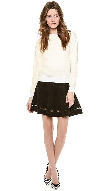 Rebecca Taylor Jacquard Sweater