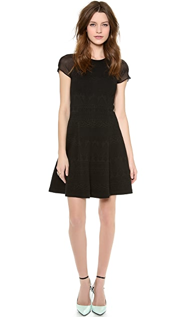 Rebecca Taylor Jacquard Dress
