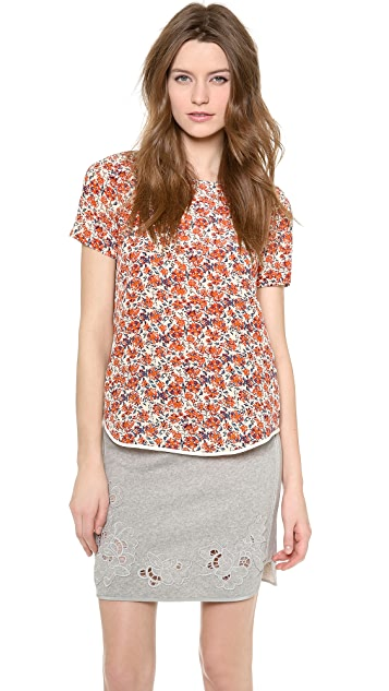 Rebecca Taylor Sweet William Tee