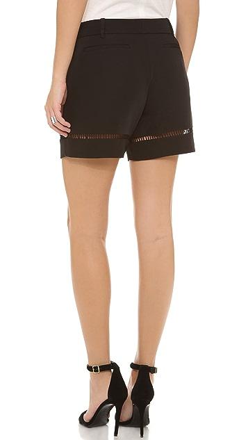 Rebecca Taylor Satin Ladders Shorts