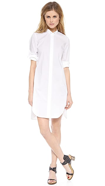 Rebecca Taylor Long Sleeve Shirtdress