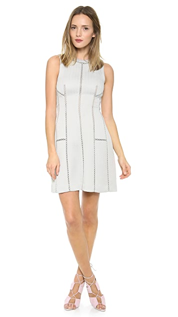 Rebecca Taylor Structured Dress