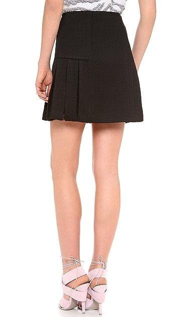 Rebecca Taylor Textured Skirt