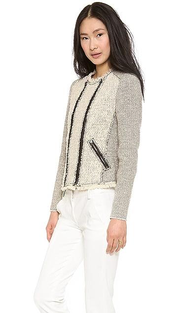 Rebecca Taylor Combo Tweed Jacket