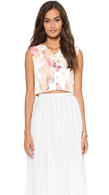 Rebecca Taylor Enchanted Crop Top