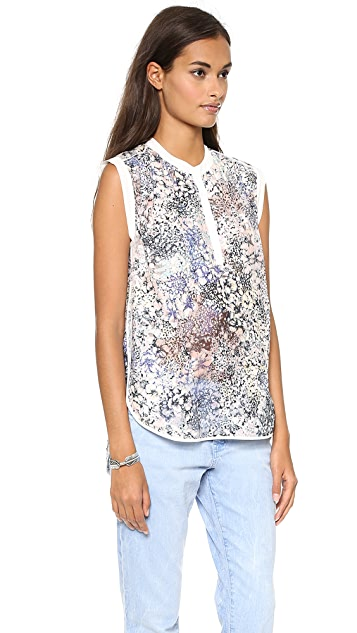 Rebecca Taylor Feathered Meadow Top