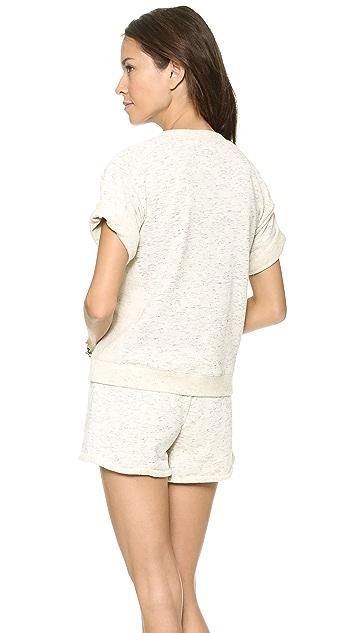 Rebecca Taylor Sparkle Jacquard Sweatshirt
