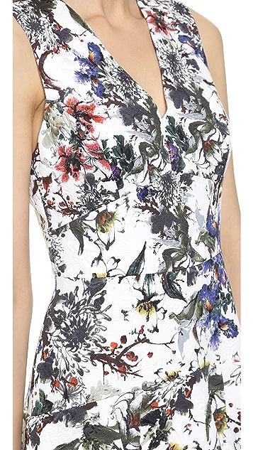 Rebecca Taylor Grey Gardens Matelasse Dress