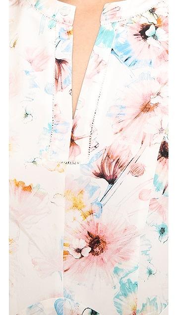 Rebecca Taylor Poppy Godet Dress
