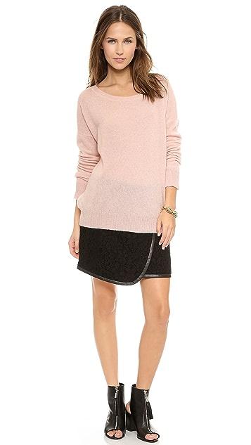 Rebecca Taylor Lace Wrap Skirt