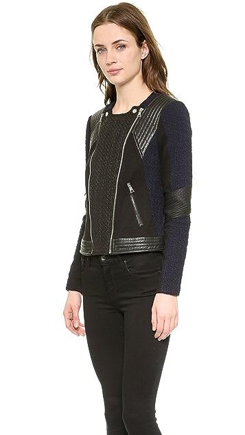 Rebecca Taylor Combo Moto Jacket