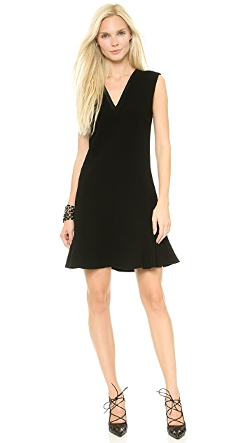Rebecca Taylor Sleeveless V Neck Dress