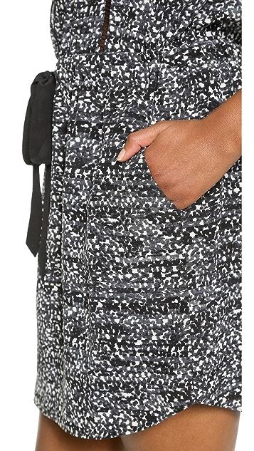 Rebecca Taylor Ink Dot Silk Dress