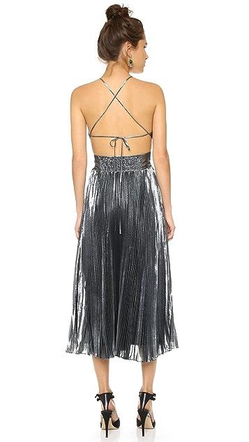 9e314489b Rebecca Taylor Lurex Pleated Dress; Rebecca Taylor Lurex Pleated Dress ...