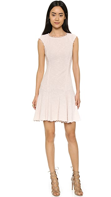 Rebecca Taylor Stretch Boucle Dress