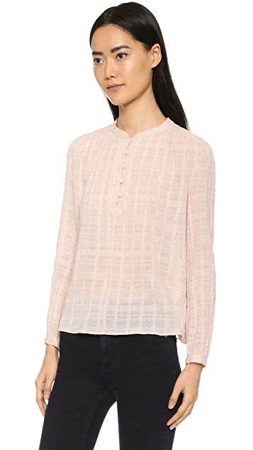 Rebecca Taylor Long Sleeve Top