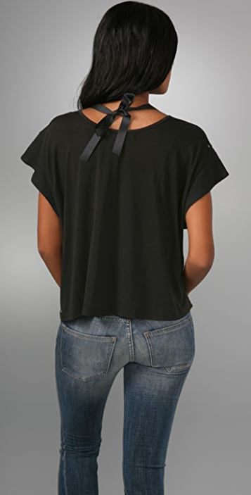 Re Collection Beaded Swing Tee