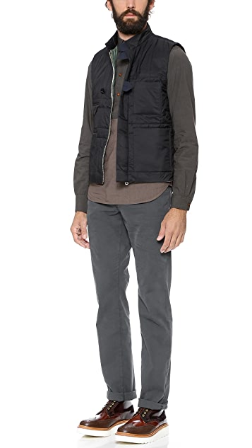 Paul Smith Red Ear Quilted Gilet