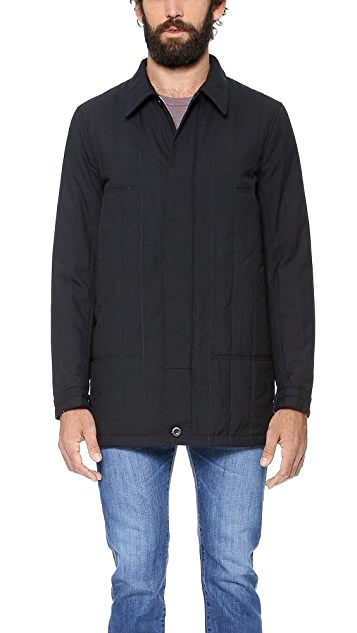 Paul Smith Red Ear Quilted Mac