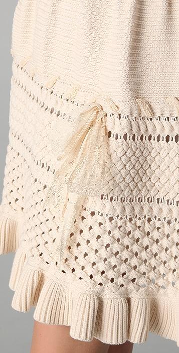 RED Valentino Sleeveless Knit Dress