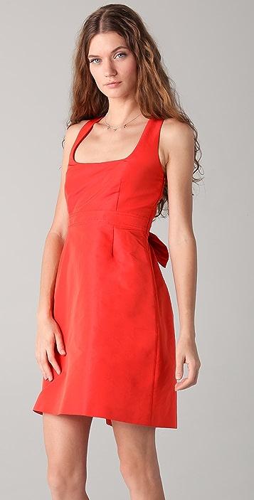 RED Valentino Bow Back Tank Dress