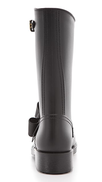 RED Valentino Bow Rain Boots