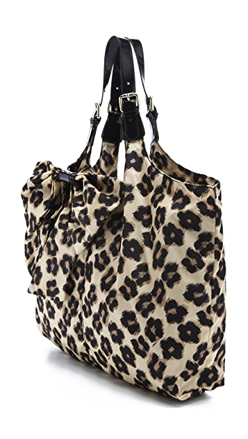 RED Valentino Leopard Print Shoulder Bag