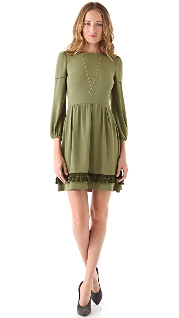 RED Valentino Bell Sleeve Dress