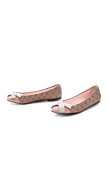 RED Valentino Flats with Bow