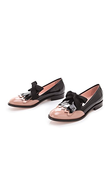 RED Valentino Bow Tie Loafers