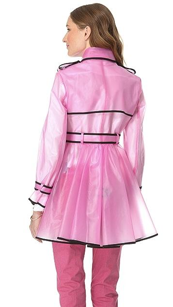 RED Valentino Transparent Raincoat