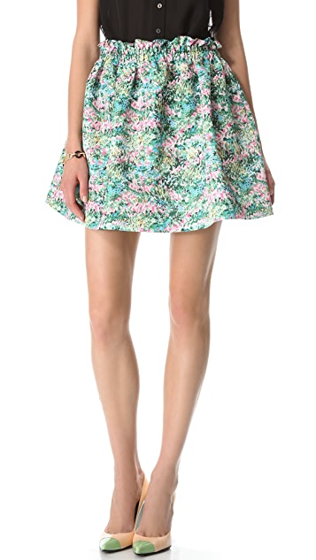 RED Valentino Meadow Printed Skirt