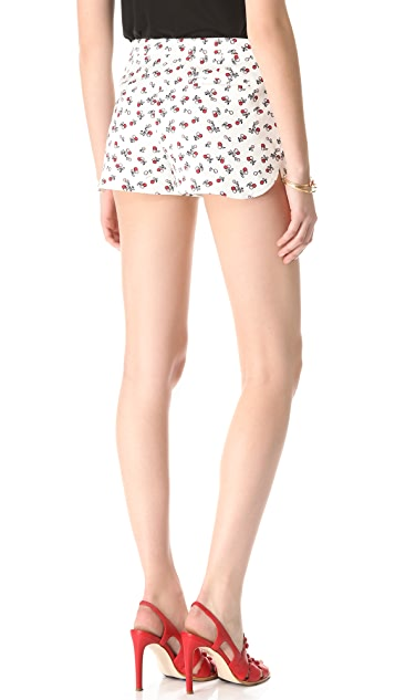 RED Valentino Cherry Print Shorts