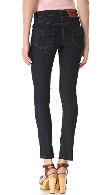 RED Valentino Bow Pocket Jeans