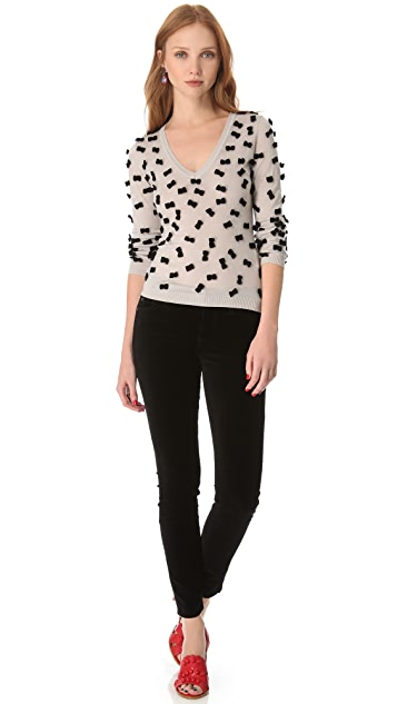 RED Valentino V Bow Sweater